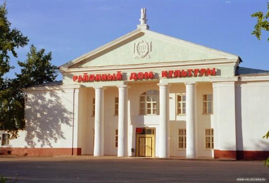 Здание районного дома культуры.
