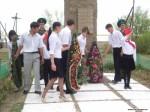 День Добеды. Возложение венков к памятнику защитников Родины в п. Комсомольский