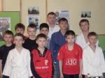 группа бойцов рукопашного боя с тренером Климовым Е