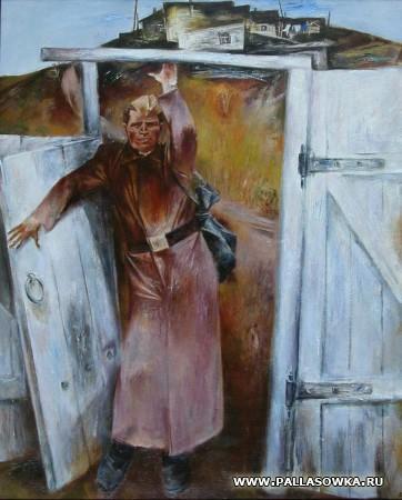 Выставка художника А. Денисова в Палласовке