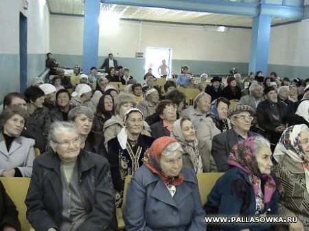 День пожилых людей. Савинка