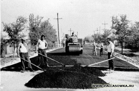 Весь район - строительная площадка. А.Тахтаров. На трудной, но родной земле.