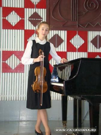 Областной конкурс скрипачей