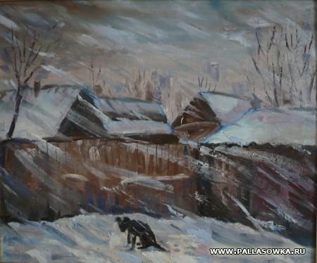 Палласовский художник поучаствовал в престижном Международном конкурсе