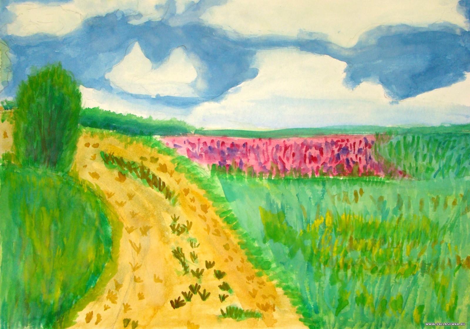 Рисунок на тему мой край моя земля 6